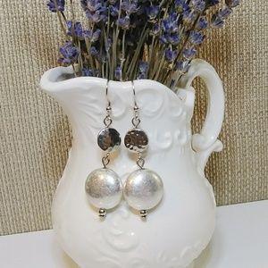 Avenue Silver Drop Earrings